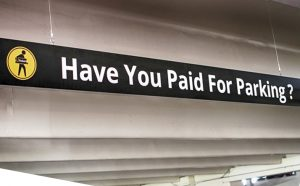 Have You Paid for Parking?